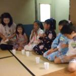 H22.8.4こども茶道教室ーblog 004
