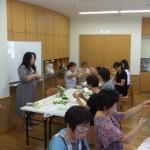 H22.8月プリザーブドフラワー教室-blog 004