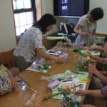 H22.8月プリザーブドフラワー教室-blog 015
